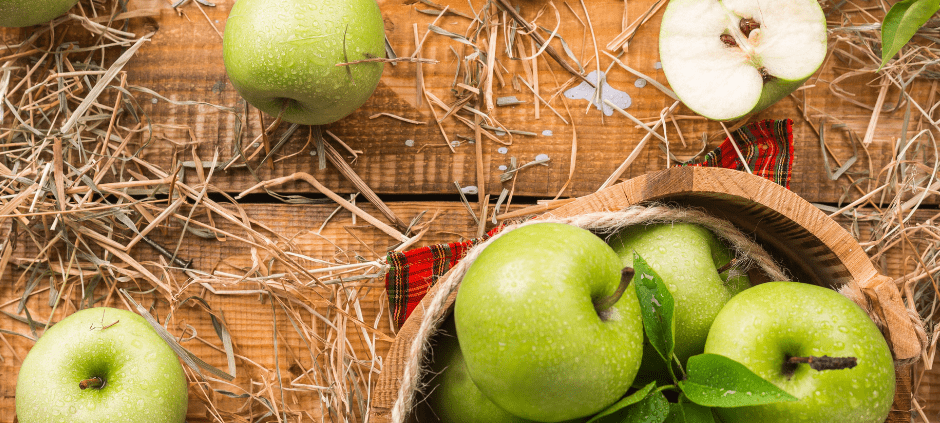 Gut health apples pectin