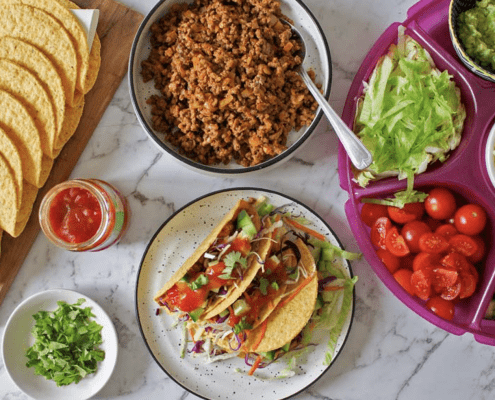 Mexican food for fussy families