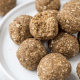 Nut free cinnamon and oat protein balls